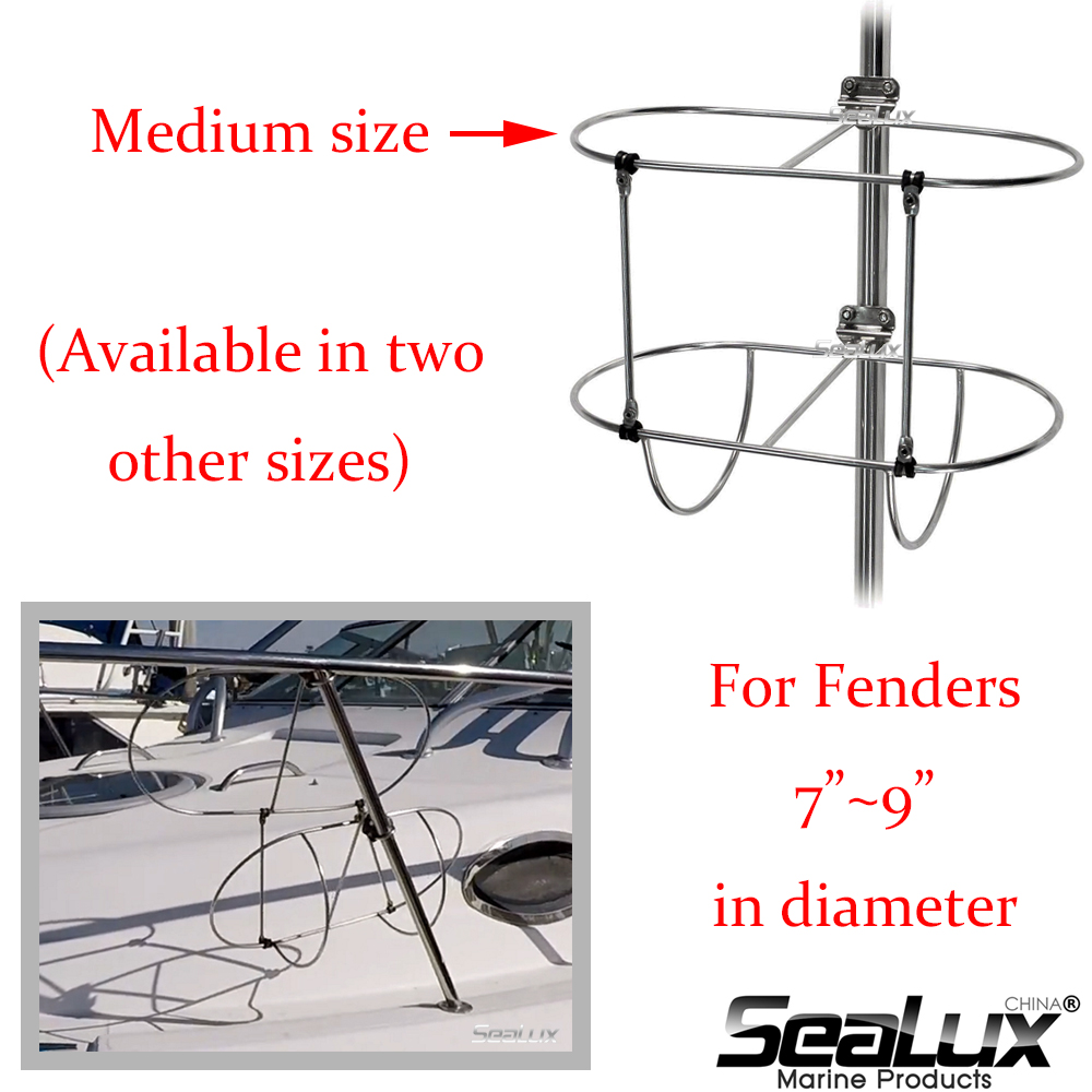 Sealux Double Fender Holder Medium Size For Fender Size 7