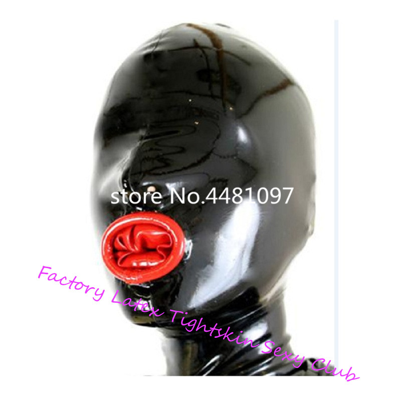Реалистичная латексная маска, открытый ноздри резиновый унисекс капюшон с презервативы для рта уникальный с задней молнией|Аксессуары для костюмов|   | АлиЭкспресс