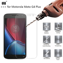 2.5D 0.26mm 9H Premium Tempered Glass For Motorola Moto G4 Plus Screen Protector Toughened protective film For Moto G4 Plus *