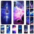 Силиконовый чехол для TECNO Camon 12 Air Чехол для телефона, мягкий чехол из ТПУ для TECNO Camon 12Air Etui, туманность, планета, звезда, космос, кожа