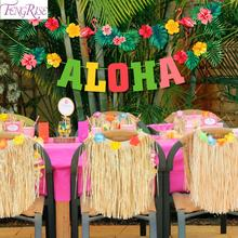 Hawaiian Party ALOHA Turtle Leaf Banner Hawaii Tropical Party Summer Flamingo Party Luau Happy Birthday Decor Aloha Pineapple pineapple party decorations pineapple cups balloons hawaii tropical party summer flamingo party luau wedding decor palm leaf