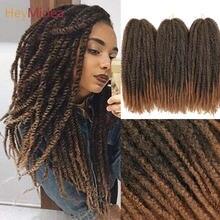 Волосы marley для скручивания Длинные афро кудрявые волосы 18