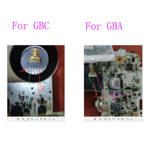 Image 5 - For Nintendo Game Boy Color GBC Frontlit Frontlight Front Light Mod Kit For Gameboy Advance GBA