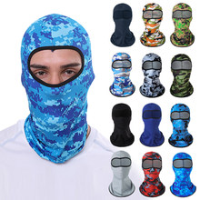Summer outdoor sports riding headgear military ice silk sunscreen mask bicycle motorcycle windproof dustproof masked hood