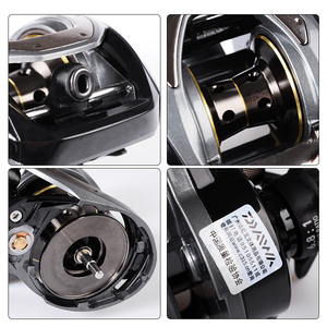 Image 5 - DAIWA CR80 Fishing reels 6.8Gear Ratio Max Drag 7kg Baitcasting Fishing Reel pesca Max Drag 7kg Low Profile Fishing reels