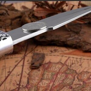 Image 4 - 2019 neue Gerade Messer Jagd Messer Outdoor Camping selbstverteidigung Werkzeuge Tactical Fixed Blade Tasche Überleben Messer