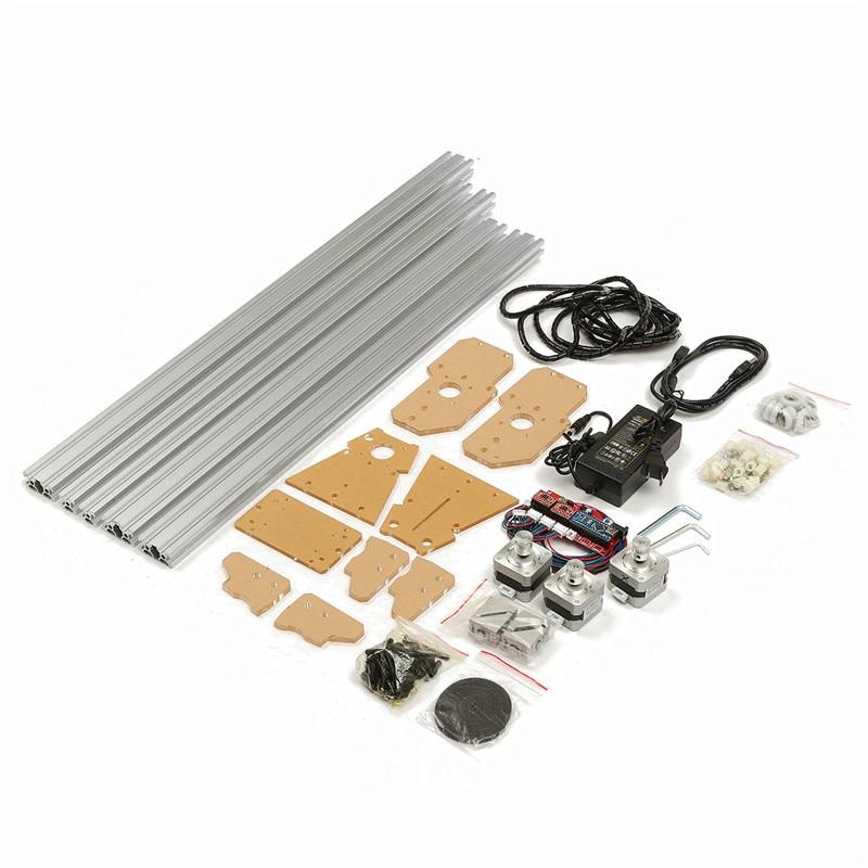 65x50cm 100mw-5500mw DIY Desktop Mini Laser Cutting/Engraving Engraver Machine DC 12V Wood Cutter/Printer/Power Adjustable