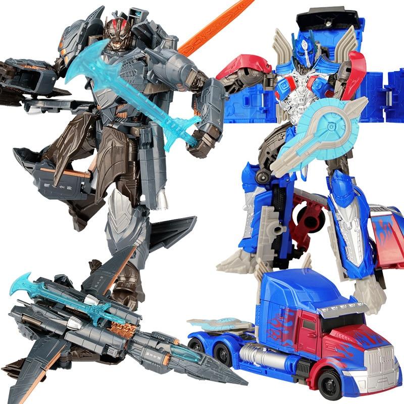 20 см Шмель Оптимус Прайм Трансформация автомобиль робот игрушки Megatron Decepticons Джаз Коллекция фигурку кукла подарок для детей
