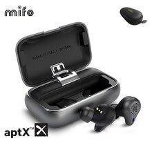 Nowe Mifo O5 Pro Bluetooth 5.2 prawdziwe bezprzewodowe wkładki douszne zbalansowane słuchawki Bluetooth aptx-adaptacyjne CVC 8.0 redukcja szumów 10H Play