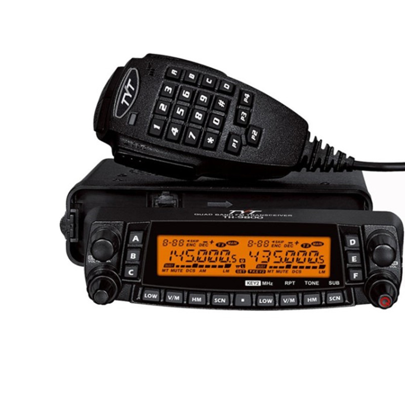 100% Original <font><b>TYT</b></font> <font><b>TH</b></font>-<font><b>9800</b></font> Car Walkie Talkie 50km VHF UHF Mobile Radio <font><b>TH</b></font> <font><b>9800</b></font> Transceiver Quad Band Dual Display Repeater TH9800 image