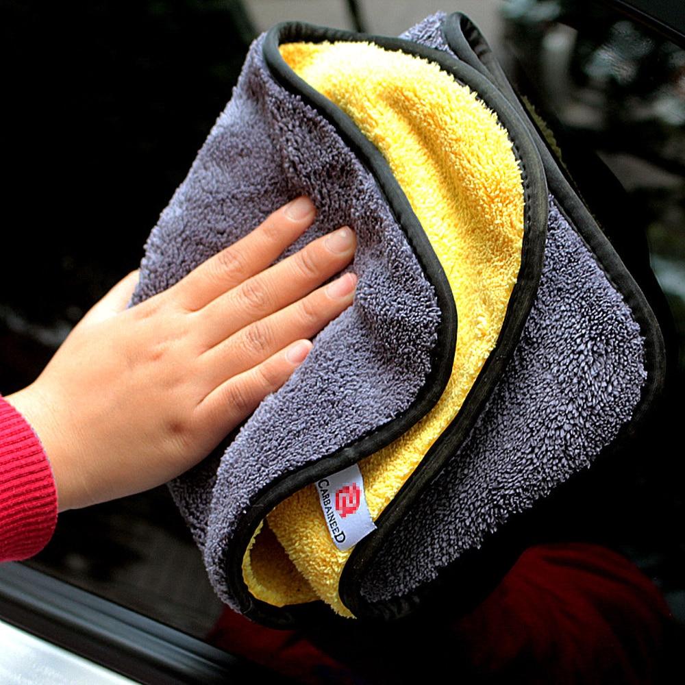 Супервпитывающее полотенце из микрофибры для мытья автомобиля, салфетка для чистки и сушки автомобиля, уход за автомобилем, полотенце для м...