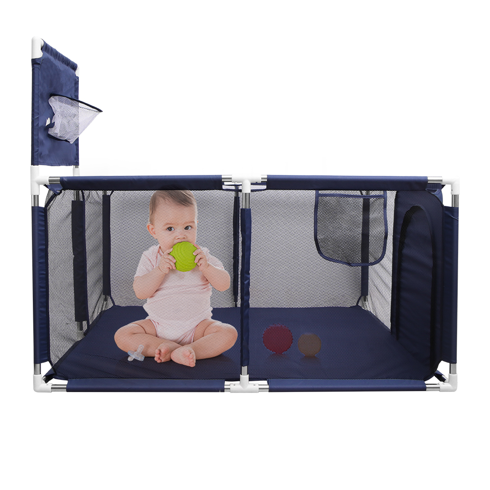 Kids Tent Ball Pool Safety Guard Railing Basketball Barriers Infant Learning Crawl Walk Fence Barriers Infant Playpens Baby Care