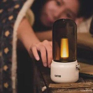 Image 3 - لوفري شمعة ضوء الرجعية 1800k اثنين من وسائط الضوء USB شحن/عمود شحن LED ضوء شمعة مصباح طاولة الإبداعية