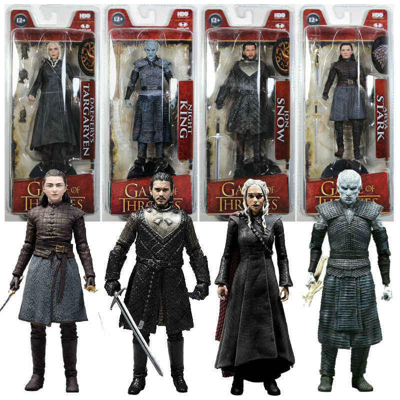 Moive Game Of Thrones Targaryen Jon Snow Night King Action Figure