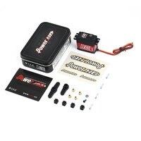 Servomotor Digital de alta tensión sin núcleo, engranaje de aleación HD R20, 20kg, alto Torque, para Control remoto, coche, barco, nuevo