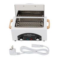Professional EU Sterilizer Box Nail Art Salon High Temperature Sterilizer Nail Manicure Family Dry Heat Autoclave Disinfection