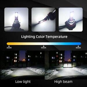 Image 5 - LED H4 LED H1 H7 H11 9005 9006 hb4 hb3 Car Headlight Bulbs  LED Car 6000K White Light Auto Headlight Fog Lamps H7 LED Light Bulb