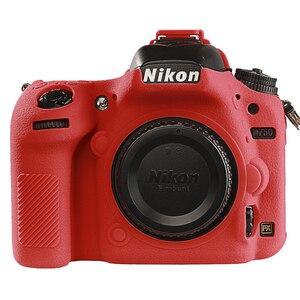 Image 3 - for Nikon D750 Cover Silicone Camera Case for Nikon D750 Camera Protector Cover High Grade Litchi Texture Non slip