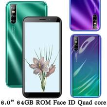Y7 Original 13MP Globale Version Smartphones 4 GRAMM 64GROM Quad Core Android Gesicht ID 6,0 zoll Handy Entsperrt celulars Telefon
