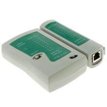 Промо-акция! USB сетевой LAN Кабельный тестер RJ45 RJ11 CAT5 UTP двойной витой