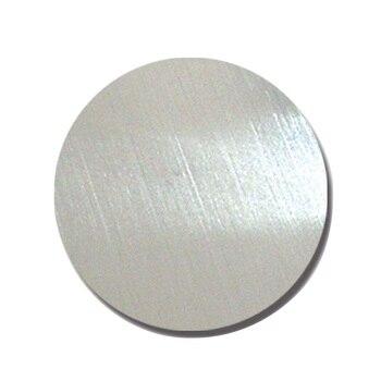 TC4 Titanium discs diameter 8cm and 1mm thick
