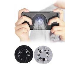 Handy Kühler Gaming Universal Telefon Kühler Einstellbar Tragbare Fan Halter Kühlkörper Für iPhone Für Samsung Für Huawei