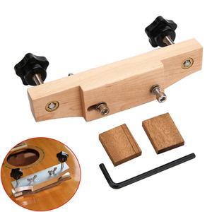 Maple Guitar Clamp Original Sound /Classical Guitar Tools Easy Installation And Operation Guitar Bridge Guitar Clip Repair Tool(China)