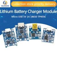Scheda di ricarica del modulo caricabatterie al litio type-c / Micro USB 5V 1A 18650 TP4056 con protezione doppia funzione 1A Li-ion