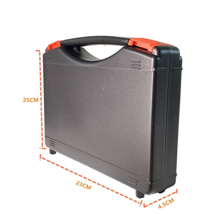 Instrument Tool Box Shockproof Storage Toolbox Sealed Tool Case Impact Resistant Suitcase