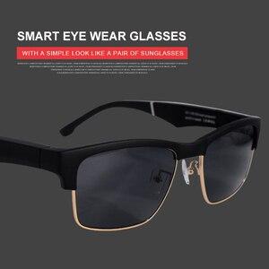 Image 3 - Wysokiej klasy inteligentne okulary wodoodporny bezprzewodowy zestaw głośnomówiący Bluetooth wywołanie muzyki Audio otwarte okulary przeciwsłoneczne