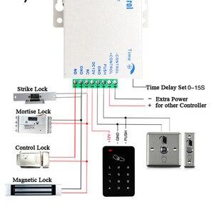Image 3 - Độc Lập Bộ Điều Khiển Truy Cập RFID Điều Khiển Truy Cập Bàn Phím Chống Nước Màu Kỹ Thuật Số Bảng Điều Khiển Đầu Đọc Thẻ Cửa Hệ Thống