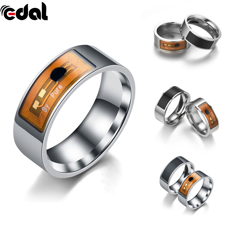 Smart Rings Multifunction Fashion NFC Open Smart Lock Intelligent Wear Ring Black Finger Digital Ring For Android Phone