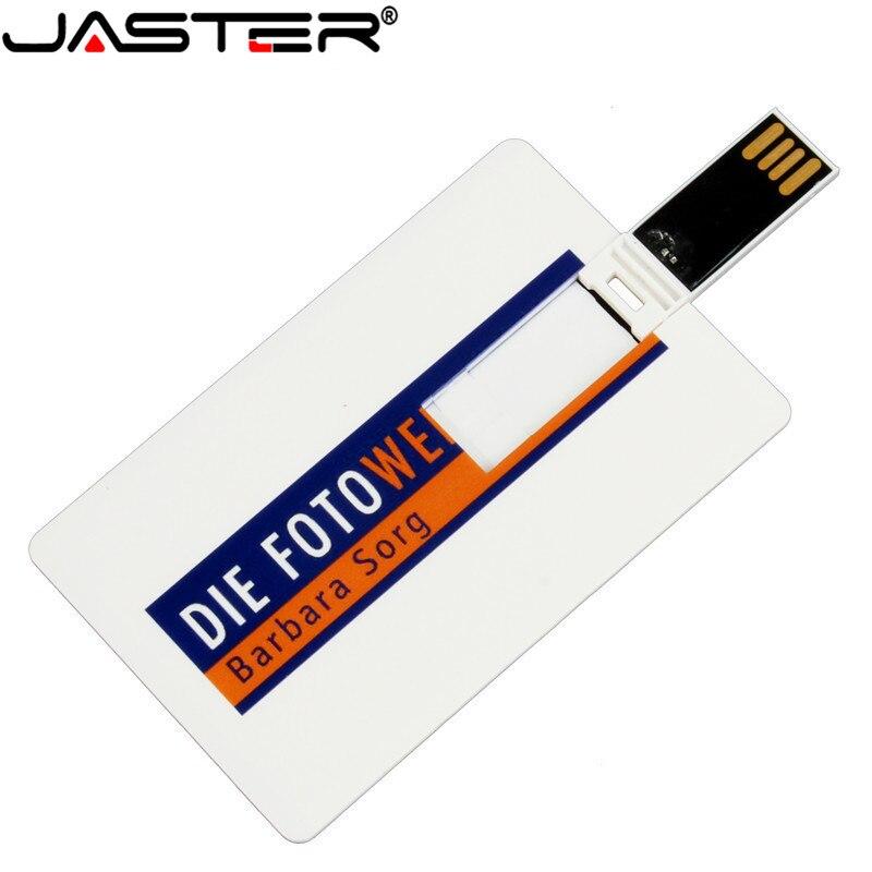 (over 10pcs Logo Free) Card Usb Flash Drive 4GB 8GB 16GB 32GB 64GB Pen Drive USB 2.0 Memory Stick Business Gift With Custom Logo