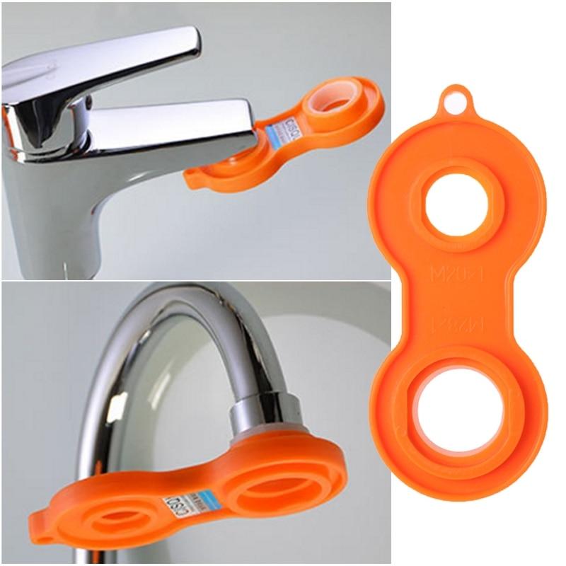 Plastic Sprinkle Faucet Aerator Tool Spanner Wrench Sanitaryware Repair Tool D08F