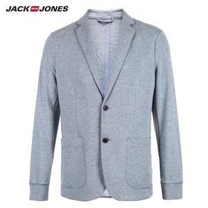 Image 5 - Jackjones básico masculino algodão & linho fino ajuste blazer longo mangas compridas terno jaqueta nova marca masculina 218308505