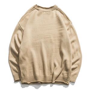 Image 2 - New Dinosaur Lovely Sweater Men Winter Pullover Mens Sweaters Oversized Boy Student Sweater Black Khaki