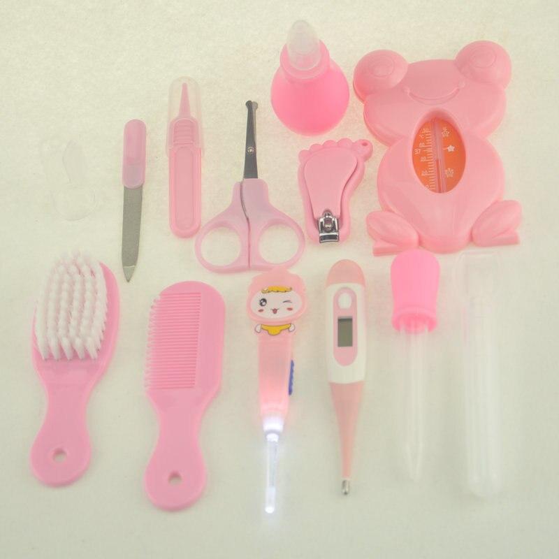 Детский комплект для ухода за здоровьем, комплект для ухода за новорожденным ребенком, комплект для ухода за ребенком, термометр, ножницы для стрижки, детские туалетные принадлежности для малышей