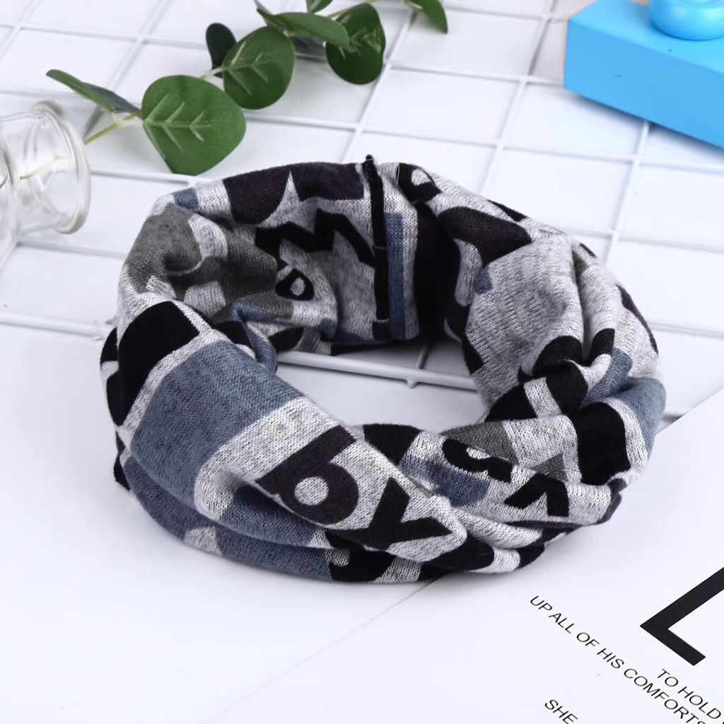 Bufanda de moda de Invierno para mujer, bufanda de anillo multifunción para mujer, bufandas de invierno de marca de lujo