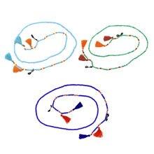 Beautiful beads strand eyeglasses cord neck strap lanyard holder