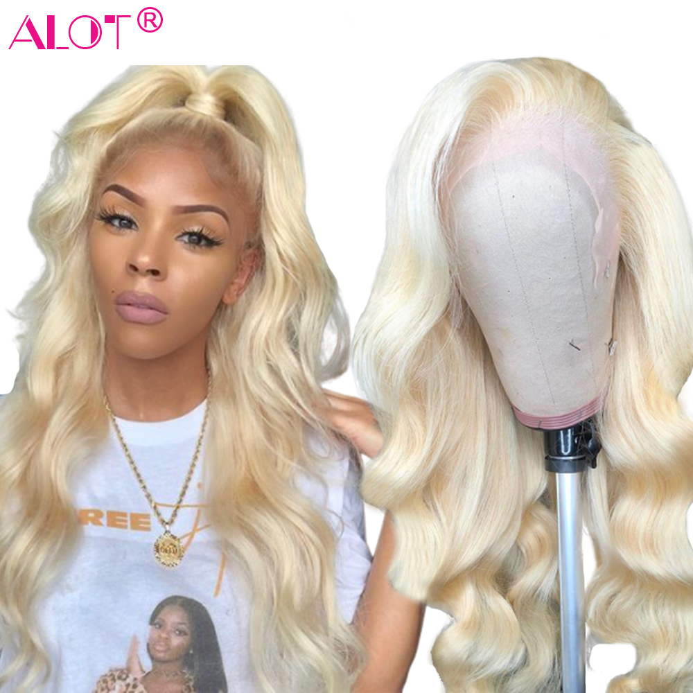 Honey Blonde 613 Lace Front Human Hair Wigs Brazilian Body Wave Lace Front Hair Wigs Glueless