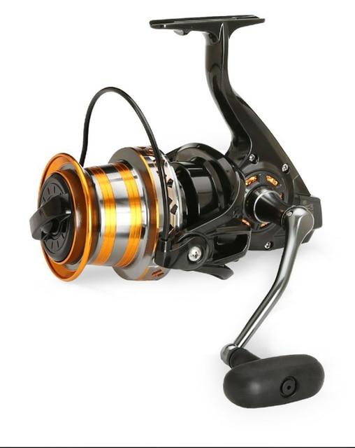 Amazing Fishing Metal Spool 13BB Fishing Reels cb5feb1b7314637725a2e7: metal foot|nylon foot