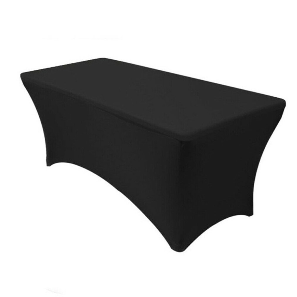 Stretch Table Cover Tablecloth Beauty Bed Cover Hotel Banquet Stretch Table Cover Sign In Table Bed Cover