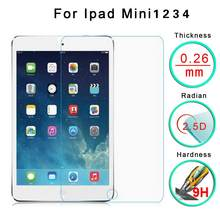 In Stock! 5/2/1Pcs For Apple IPad Mini 1 2 3 9H Clear Premium Tempered Glass Screen Protect Film Dropshipping High-Quality(China)