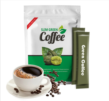 Slim Green Coffee with Ganoderma Control Weight Detox Tea Loss Slimming Fat Burning Health Diet Pills Anti Cellulite