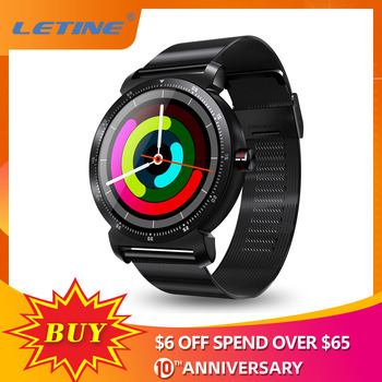 LETINE K88H Plus Bluetooth Calling Smart Watch Heart Rate Monitor Sports Tracker Amazfit Smart Watch Men for Xiaomi Huawei