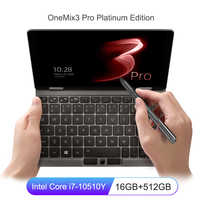 OneMix 2020 A Laptop Notebook 8.4 inch Intel Core i7 10510Y 16GB 512GB PCIE SSD FHD IPS Laptops ultrabook Pocket Computer