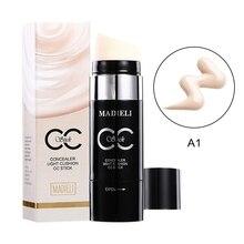 Natural Nude Face Makeup Effect Concealer Stick Moisturizing Brighten Skin BB Cream Stick maquillaje coreano*.w