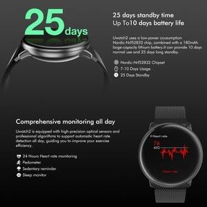 "Image 5 - Uwatch2 חכם שעון 1.33 ""IPS 240*240 תצוגת BT4.0 כושר מד צעדים קלוריות חכם טיימר לב קצב שינה Monitori שעוני יד"