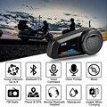 Спортивная гарнитура Fodsports FX6  2 шт.  гарнитура для мотоциклетного шлема с Bluetooth  Интерком 1000 м  fm-радио