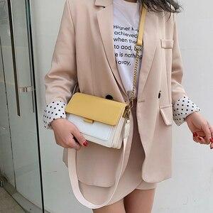 Image 4 - Brand Leather Crossbody Bags For Women 2020 Chain Shoulder Messenger Bag Lady Travel Purses Mini Handbags Cross Body Bag Fashion